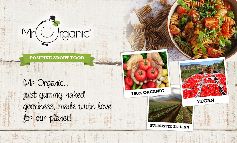 Smylies finest organic produce from Mr Organic